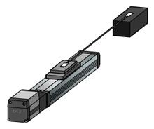 車載用センサのコネクタ圧入・導通検査装置:図